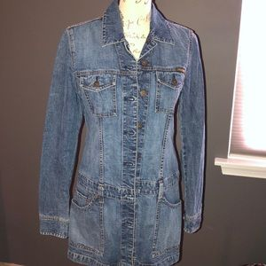 Lucky Brand denim dress size M. Awesome Flattering